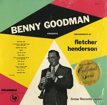 GOODMAN, BENNY /FLETCHER HENDERSON presents fletcher henderson arrangements