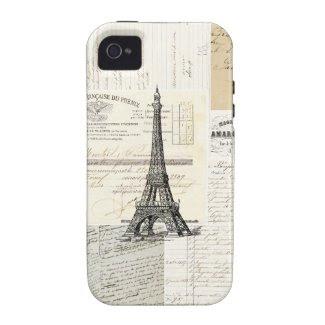 Vintage Paris French Case Vibe iPhone 4 Cases