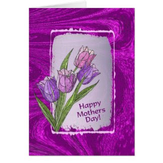 Tulips In Lovely Pastel Shades Mothers Day Wishes Cards