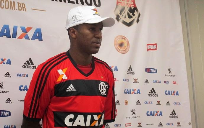 Erazo Flamengo (Foto: Thales Soares)