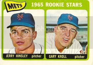 #449 Mets Rookie Stars: Jerry Hinsley and Gary Kroll