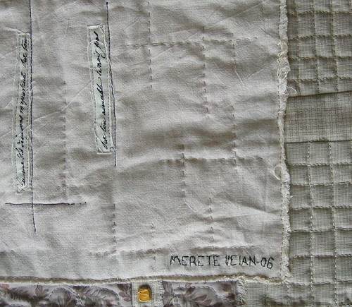 "Quilt ""vinter - rose""~ ""Winter - Rose"" : signaturen"