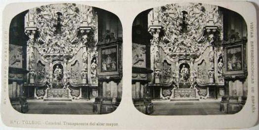 Fotografía estereoscópica de Toledo