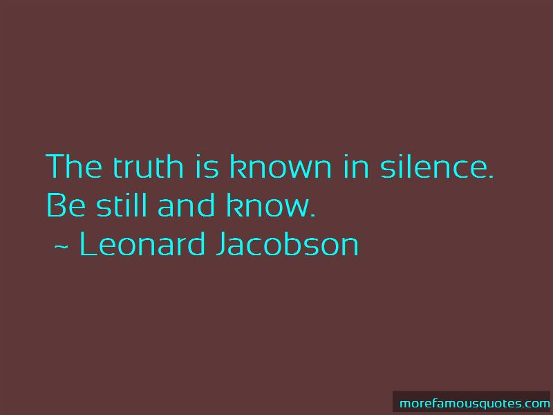 Truth And Silence Quotes Top 43 Quotes About Truth And Silence From