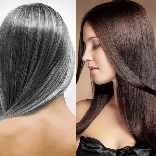Natural cures to get rid white hair permanently