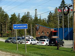 M'Chigeeng First Nation Reserve, Manitoulin Is...