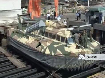 Tondar. Кадр телеканала IRIB News