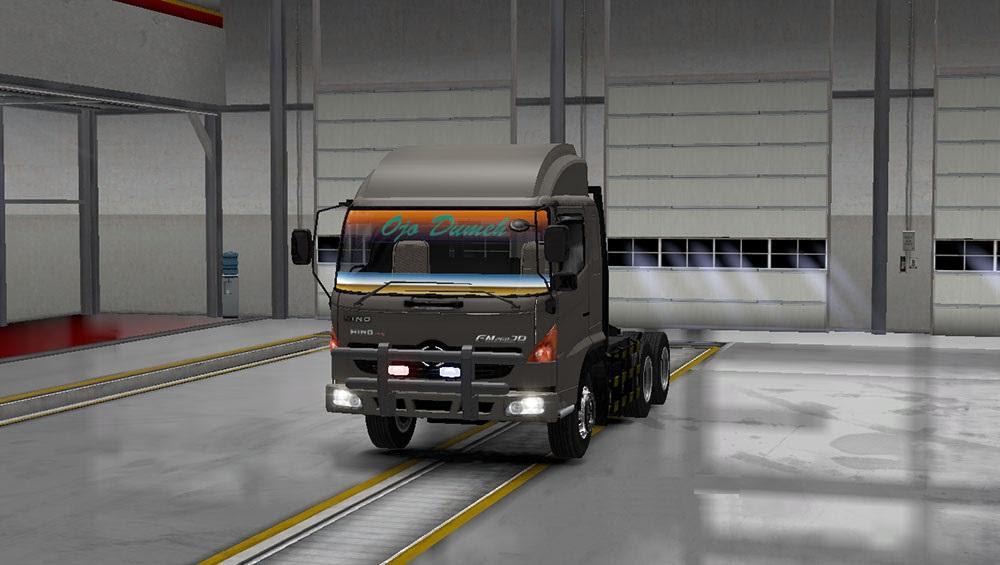 HINO 500 BY S M T Truck Euro Truck Simulator 2 Mods