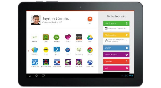 Amplify Tablet is an Android machine custombuilt for education