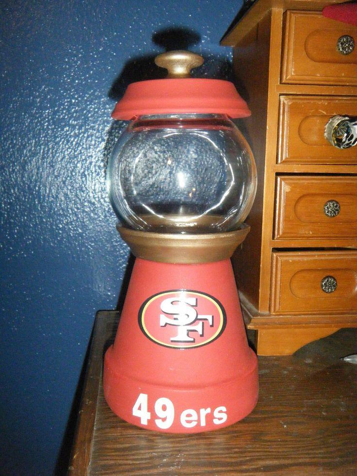 San Francisco 49ers Candy Jar | eBay