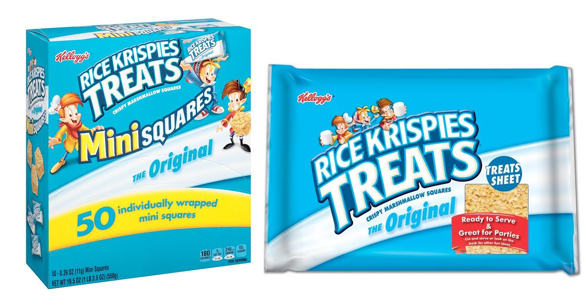 Amazon: Kellogg's Rice Krispies Treats, Original Mini ...