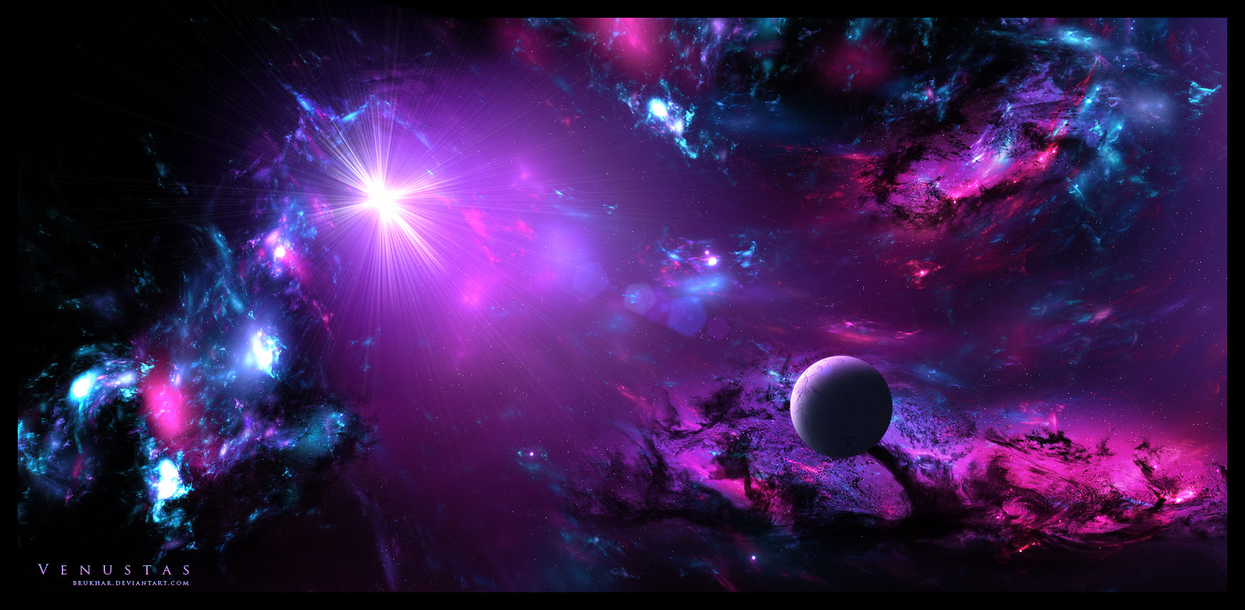 Space Fantasy Wallpaper Firefox