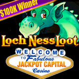 Air Force Retiree Enjoying Six Figure Winnings on New Loch Ness Loot Slots Game at Jackpot Capital Casino