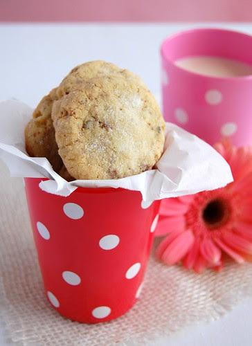 Butter pecan cookies / Amanteigados de pecã