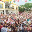 López Obrador en San Blas, Oaxaca. Foto: Especial