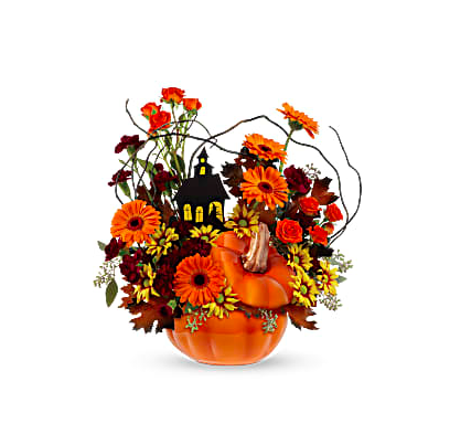 Fun And Spooky Halloween Flower Arrangements For Decorating Teleflora Blog