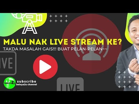 TIPS  DAN LANGKAH-LANGKAH LIVE STREAMING DI FACEBOOK
