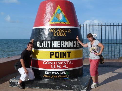 Cartel de 90 millas hasta Cuba (Key West)