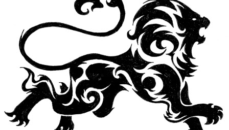 Leones Con Estilo Tribal Ideales Para Tatuajes Mil Recursos