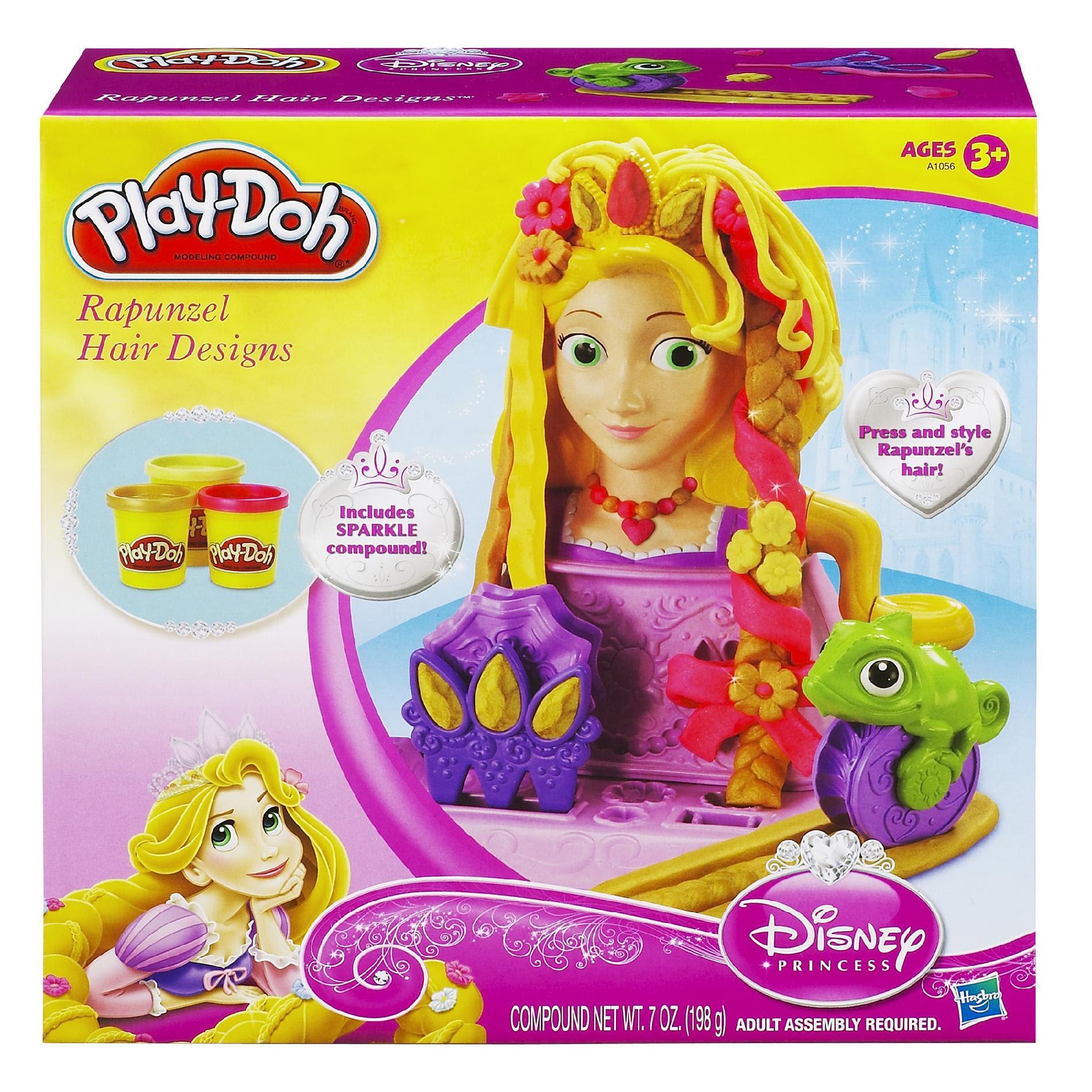 Disney Princess Rapunzel Hair Designs Set