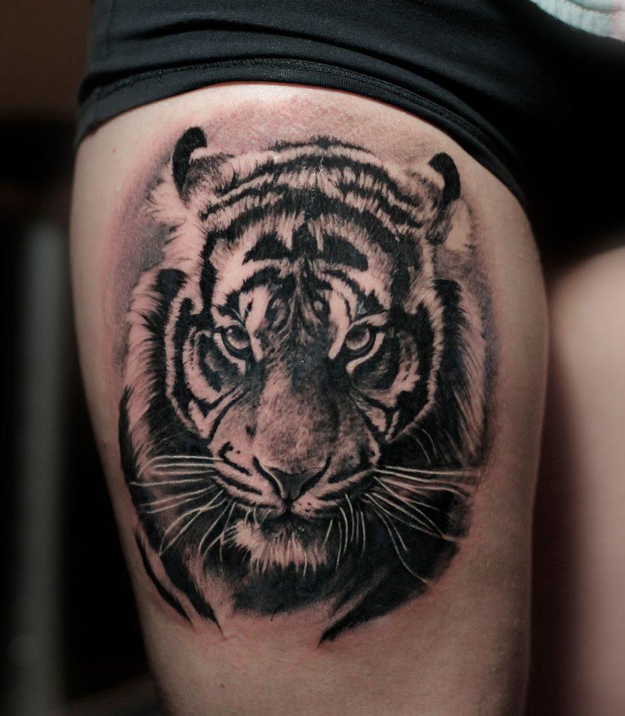 Tiger Tattoos Angelique Grimm