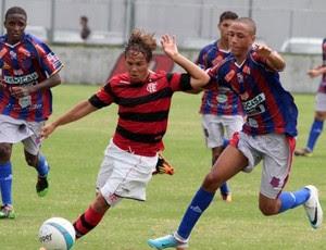 Douglas Baggio, atacante juvenil do Fla (Foto: Divulgação)