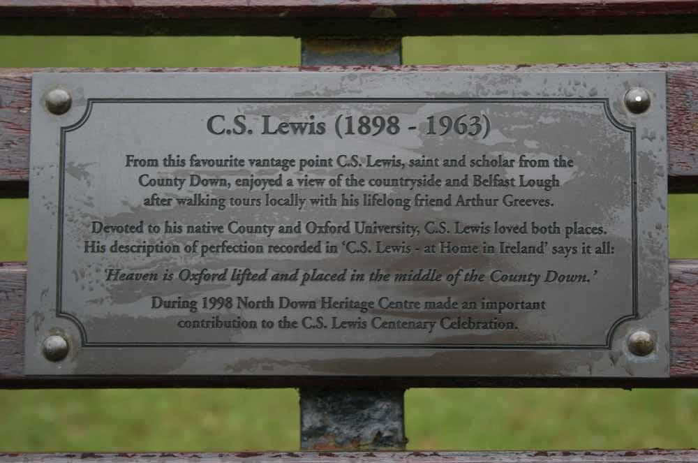 C.S. Lewis plaque