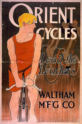 Orient Bicycles Poster