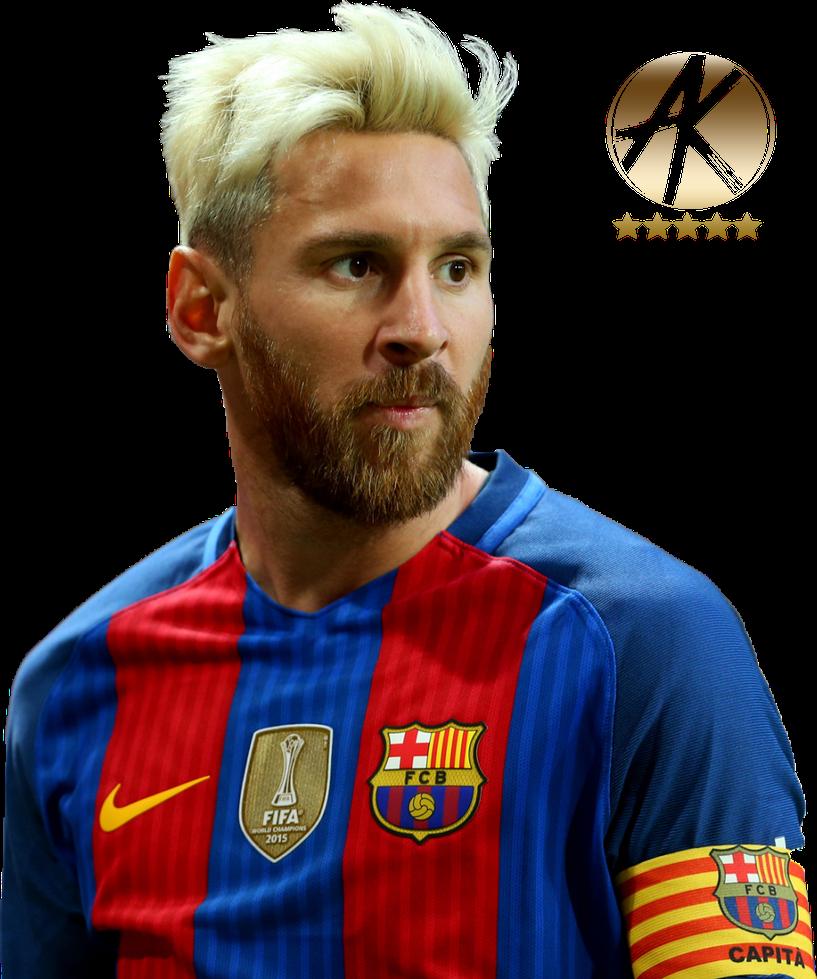 Lionel Messi Render (FC Barcelona) 2016/17 by AKRenders on ...