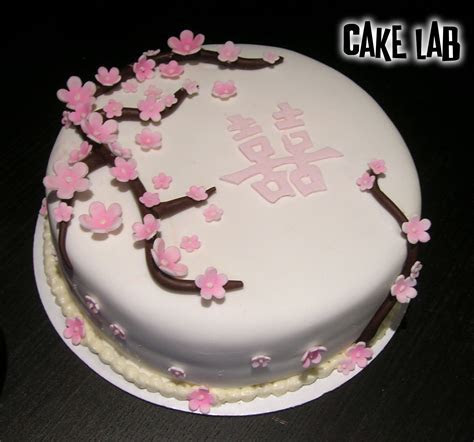 ZacO Cakes: Red & Pink Cherry Blossom Cakes