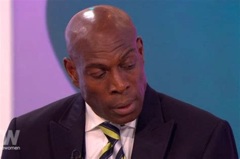 frank bruno daughter  touching speech  loose women