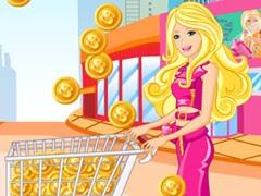 مغامرات باربي جمع النقود والتسوق