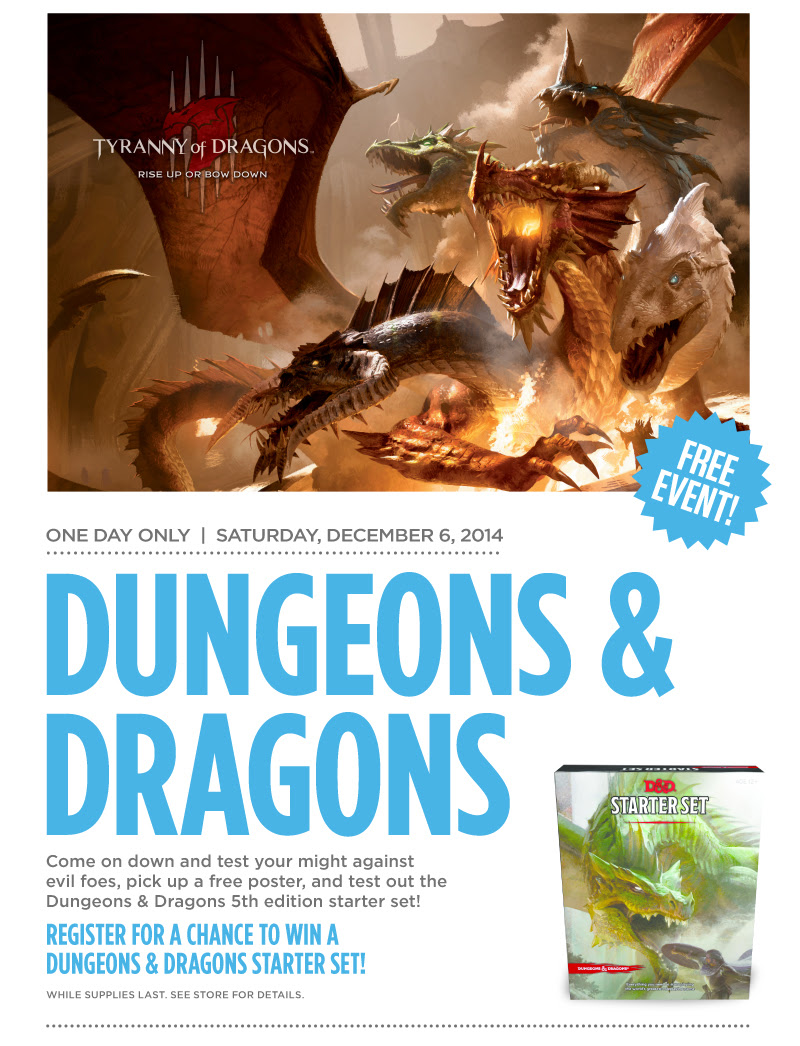 Dungeons & Dragons at Books-A-Million!