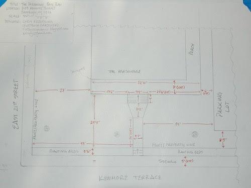 The Parsonage, Garden Design Base Plan