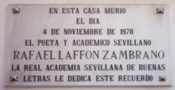 Imagen de Placa: Muere Rafael Laffón