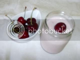 Iogurte de cereja