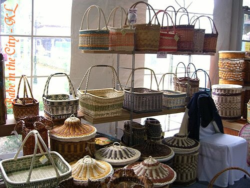 More baskets and weavings