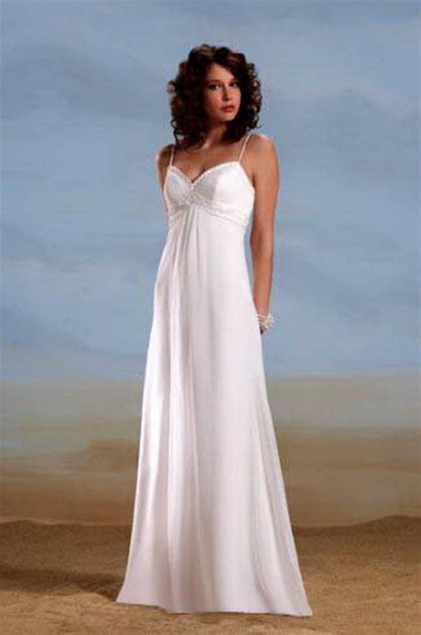Casual wedding dresses beach