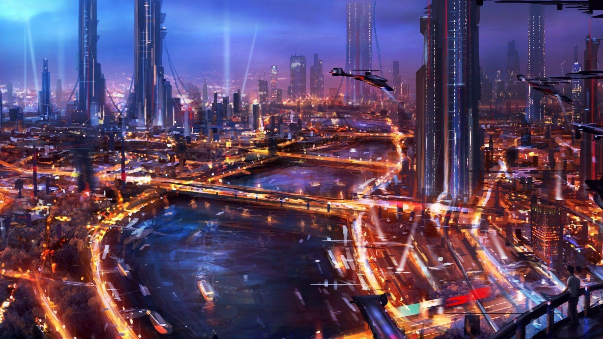 Hd Cyberpunk Cyberpunk City Wallpaper 2560x1440