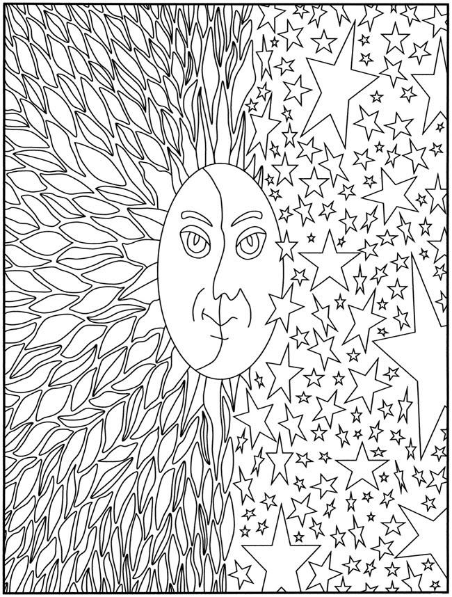 Creative Haven Art Nouveau Animal Designs Coloring Book Dover Coloring  Pinterest Coloring - Coloring Pages