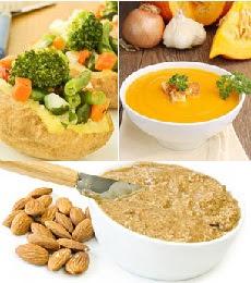 Contoh Buah Dan Makanan Berserat tinggi