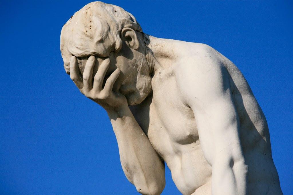 http://upload.wikimedia.org/wikipedia/commons/3/3b/Paris_Tuileries_Garden_Facepalm_statue.jpg