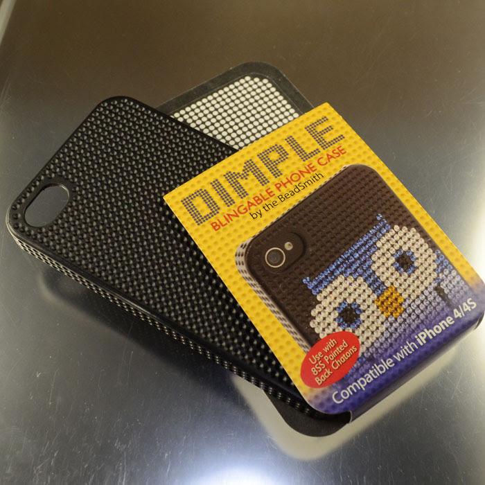 s35984 Phone Case -  Dimple - Iphone 4/4S - Black (1)