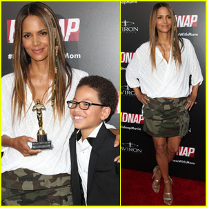 Halle Berry Wins 'Best Mother' at 'Kidnap' Premiere in LA