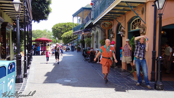 Disneyland Resort, Disneyland, New Orleans Square, Pirates of the Caribbean, Cast Member, Peg Leg