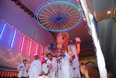 Lalbagh Cha Raja Moves out of the Pandal by firoze shakir photographerno1