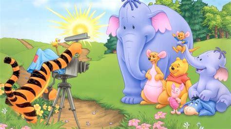 tigger shooting heffalumps kanga roo  piglet  eeyore winnie  pooh disney wallpaper hd