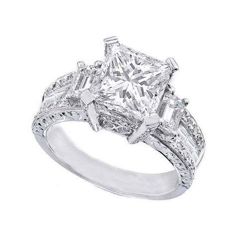 Chunky Engagement Ring Settings   Engagement Ring USA