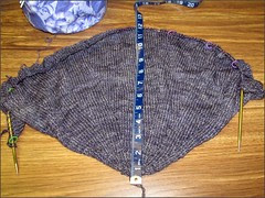 Nefertem Shawl, as of 1/25/12
