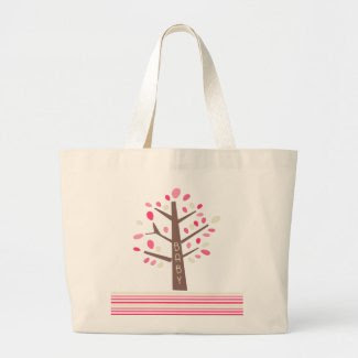 Tree Baby On The Go Eco Bag zazzle_bag